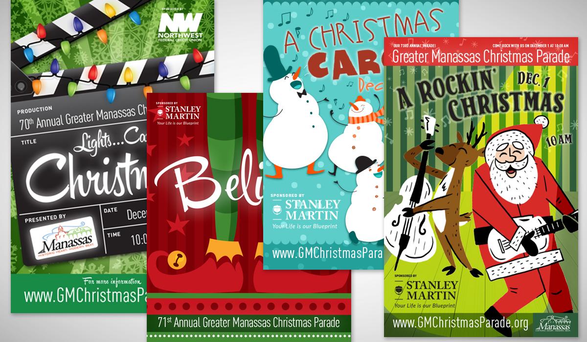 City Of Manassas Christmas Parade 2021 Manassas Virginia Annual Christmas Parade Marketing Campaigns Morgan Mackenzie Design Llc